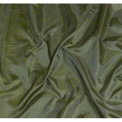 tissu doublure toscane kaki largeur 150cm x 50cm