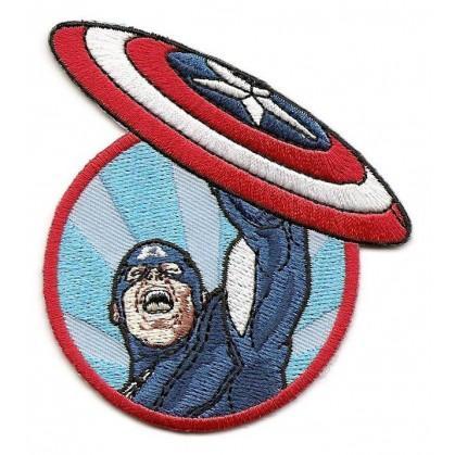 écusson captain america thermocollant n°2