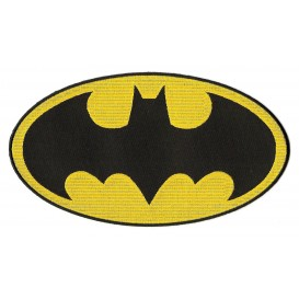 écusson grand symbole batman thermocollant