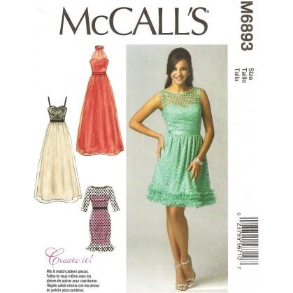 patron robes McCall's M6893