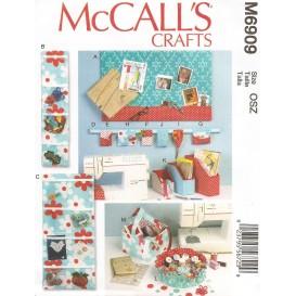 patron objets de couture McCall's M6909