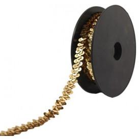 galon à paillettes élastique 10mm x 50cm