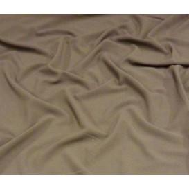 tissu crêpe taupe largeur 145cm x 50cm