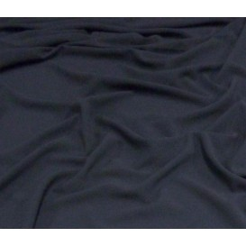 tissu crêpe bleu marine largeur 145cm x 50cm