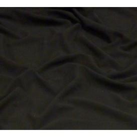 tissu crêpe noir largeur 145cm x 50cm