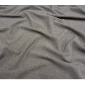 tissu crêpe gris largeur 145cm x 50cm