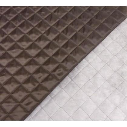 tissu doublure matelassée marron largeur 150cm x 50cm