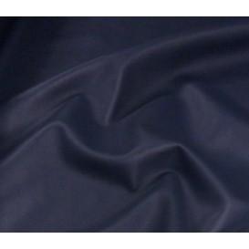 tissu simili cuir bleu marine largeur 140cm x 50cm