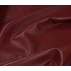 tissu simili cuir bordeaux largeur 140cm x 50cm