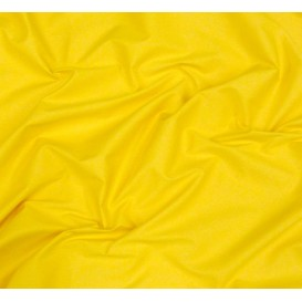 tissu toile coton uni jaune largeur 150cm x 50cm