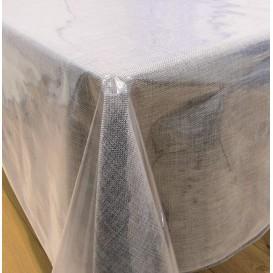 cristal uni transparent largeur 140cm x 50cm