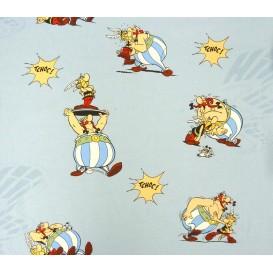 tissu coton asterix et obelix largeur 140cm x 50cm