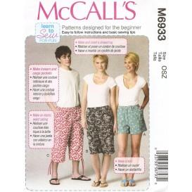 patron short McCall's M6933