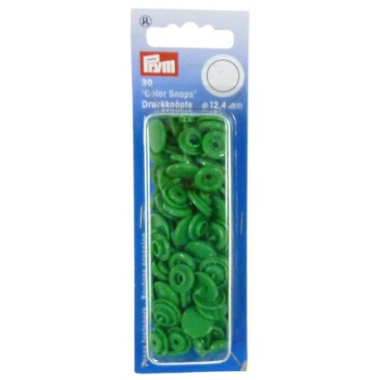 30 boutons pression color snaps 12,4mm