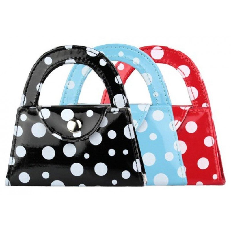 Kit couture sac vernis pois 12x12cm for Sac rangement couture
