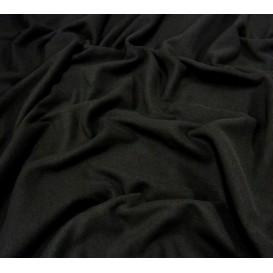 tissu polaire noir largeur 150cm x 50cm