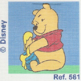 kit canevas disney winnie l'ourson miel