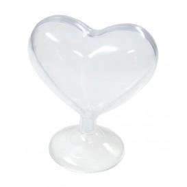 coeur sur pied en plastique