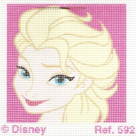kit canevas disney elsa la reine des neiges