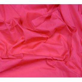 tissu popeline stretch uni fuschia largeur 143cm x 50cm