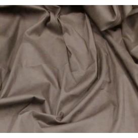tissu popeline stretch uni gris largeur 143cm x 50cm