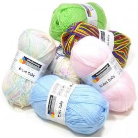 pelote de laine bravo baby