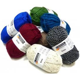 pelote de fil à tricoter schachenmayr bravo (30 coloris)