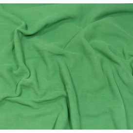 tissu polaire vert émeraude largeur 150cm x 50cm