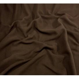 tissu polaire chocolat largeur 150cm x 50cm