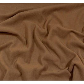 tissu polaire marron largeur 150cm x 50cm