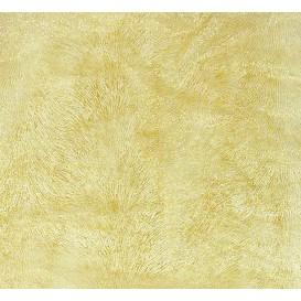 tissu organza blanc zèbre or largeur 155cm x 50cm