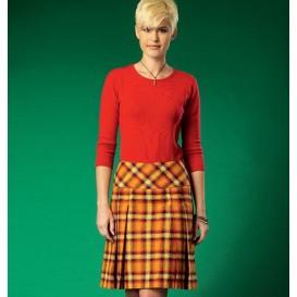 patron jupes pour jeune femme McCall's M7022