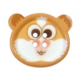 bouton fantaisie sbottonati hamster 20mm