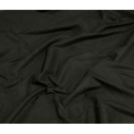 tissu popeline uni noir largeur 140cm x 50cm