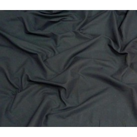 tissu popeline uni marine largeur 140cm x 50cm