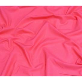 tissu popeline uni fuschia largeur 140cm x 50cm