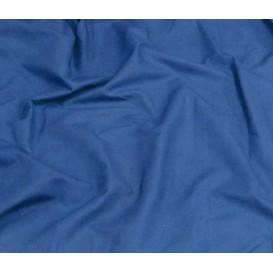 tissu popeline uni bleu largeur 140cm x 50cm
