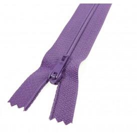 fermeture éclair prestil pantalon violet clair