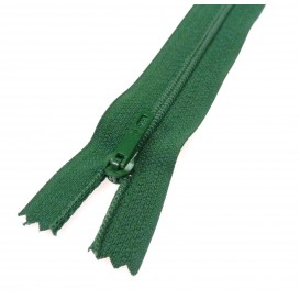fermeture éclair prestil pantalon vert sapin