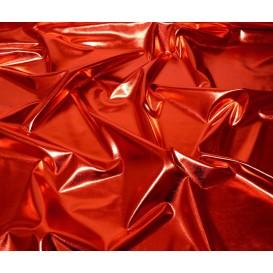 tissu lamé stretch rouge largeur 147cm x 50cm