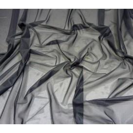 tissu doublure maille noir largeur 150cm x 50cm