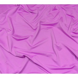 tissu lycra léger violet clair largeur 140cm x 50cm