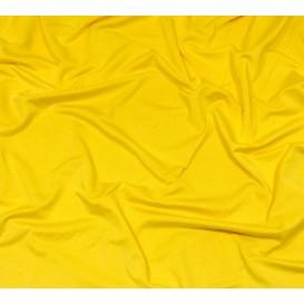 tissu lycra léger jaune banane largeur 140cm x 50cm
