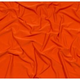 tissu lycra léger orange foncé largeur 140cm x 50cm