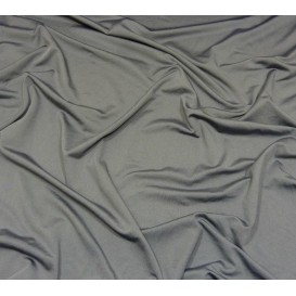 tissu lycra léger gris foncé largeur 140cm x 50cm