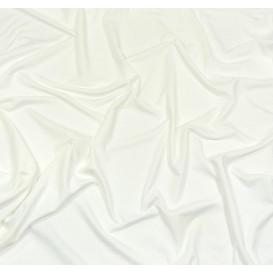tissu lycra léger blanc largeur 140cm x 50cm