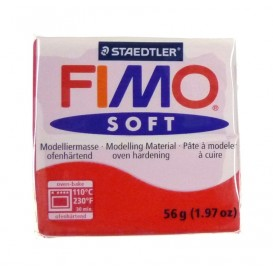 PATE FIMO ROUGE INDIEN