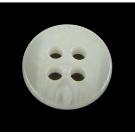 bouton 4 trous rond gris pale 9mm