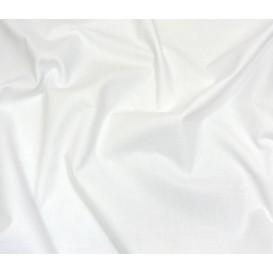 tissu cotoval uni blanc largeur 250cm x 50cm