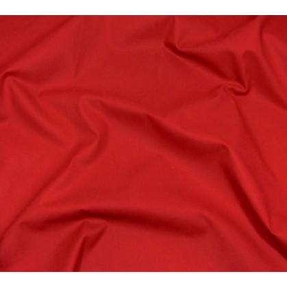 coupon 2,20m coton à drap cotoval uni bordeaux